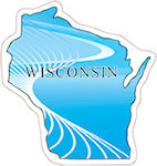 State of Wisconsin Magnets